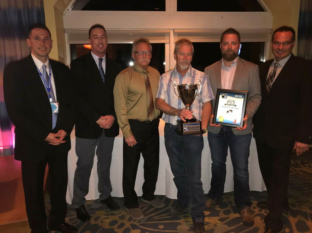 Wall Grain was the 2017 North American Dealer of the Year